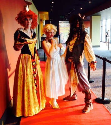 Queen of Hearts, Marilyn Monroe & Jack Sparrow
