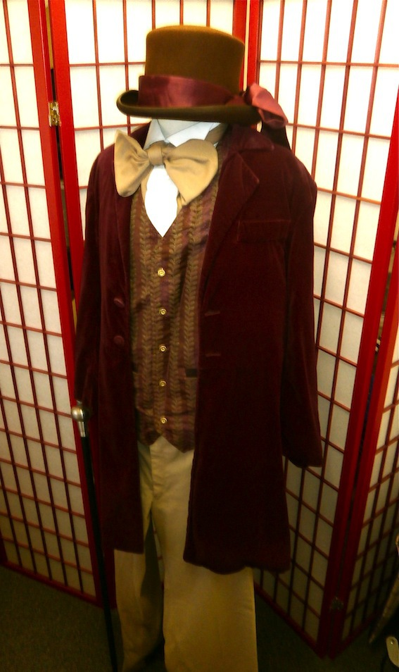 Willy Wonka costume hire