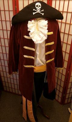 Pirate costume hire fancy dress