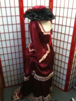 Edwardian Lady costume hire
