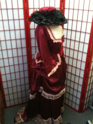 Edwardian Lady costume hire