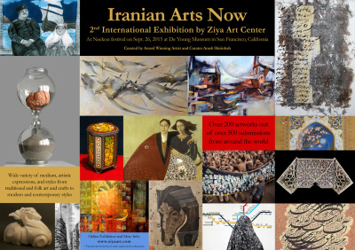 Accepted Artists for Iranian Arts Now