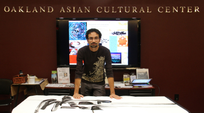 On-site Calligraphy Performance and Demonstration