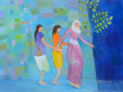 Farzaneh Farid Moayer, Islam means Peace