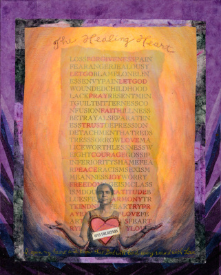 Paula DeJoie, The Healing Heart; Open for Repairs