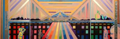 Sharon Skolnick Bagnoli, Uncle Abe's Triptych