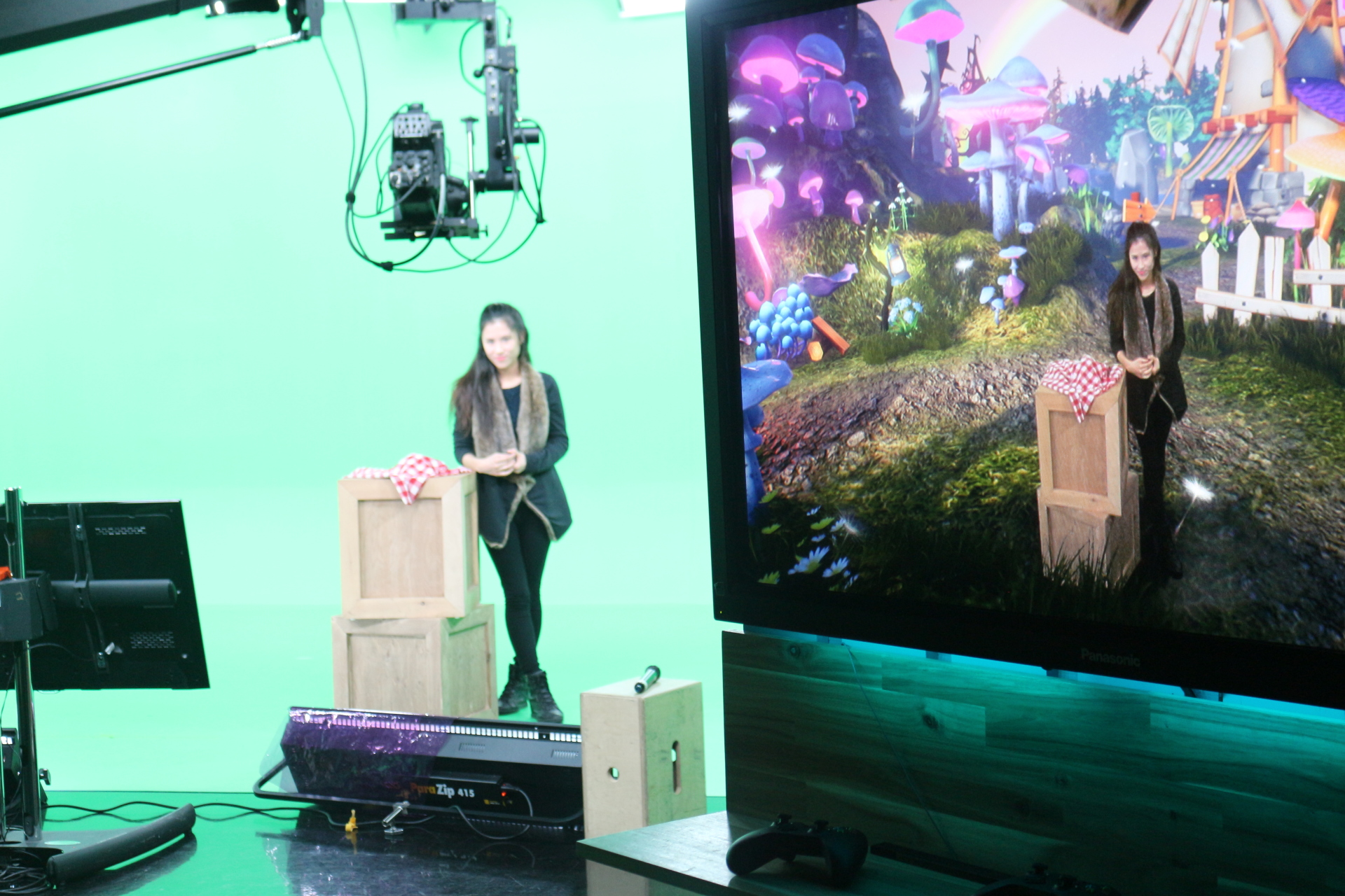 New Virtual Reality Studio Takes TV Viewers To Alternate Universes