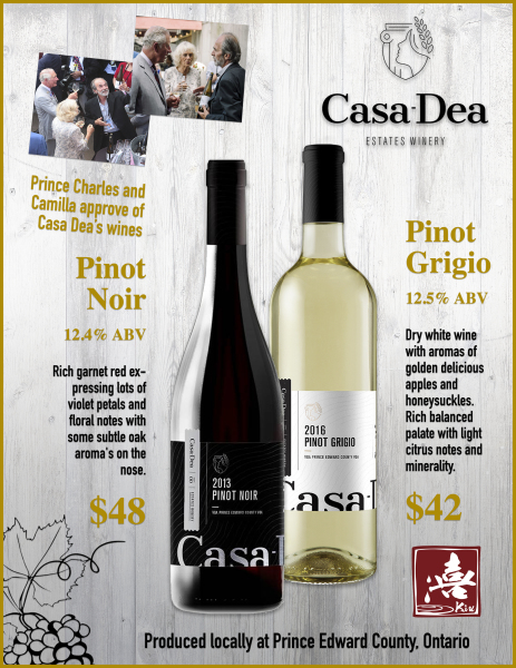 Casa Dea Wine Poster