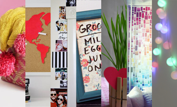 7 DIY Projects To Warm Up Any Dorm Room
