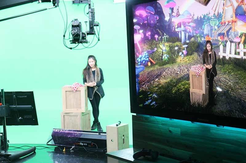 New Virtual Reality Studio Takes TV Viewers To Alternate Universes