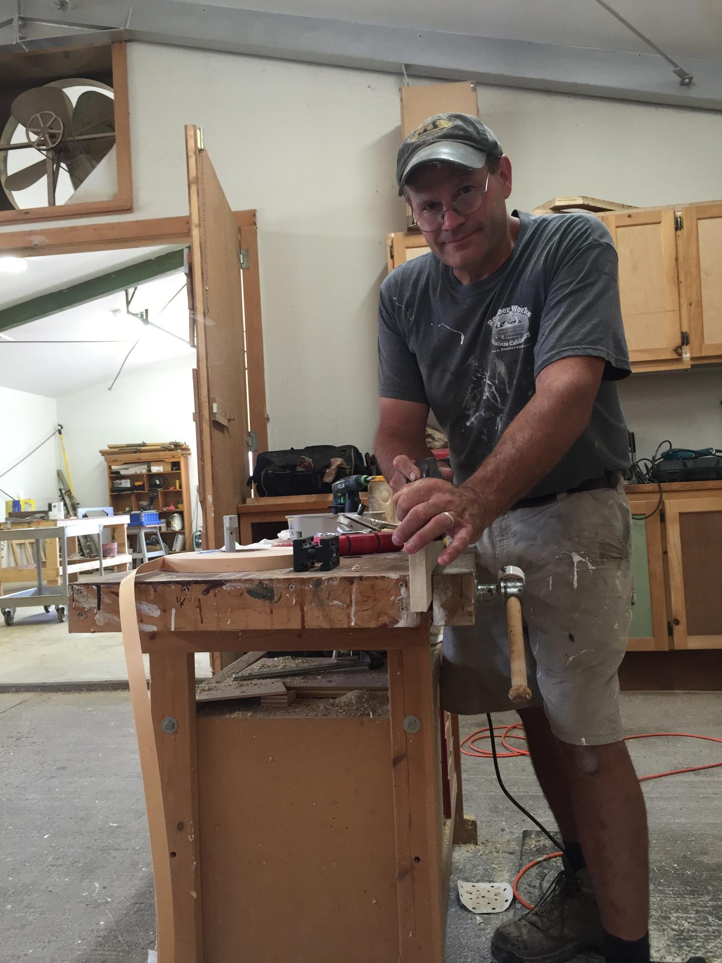 Ross Brown owner of Romber Works LLC