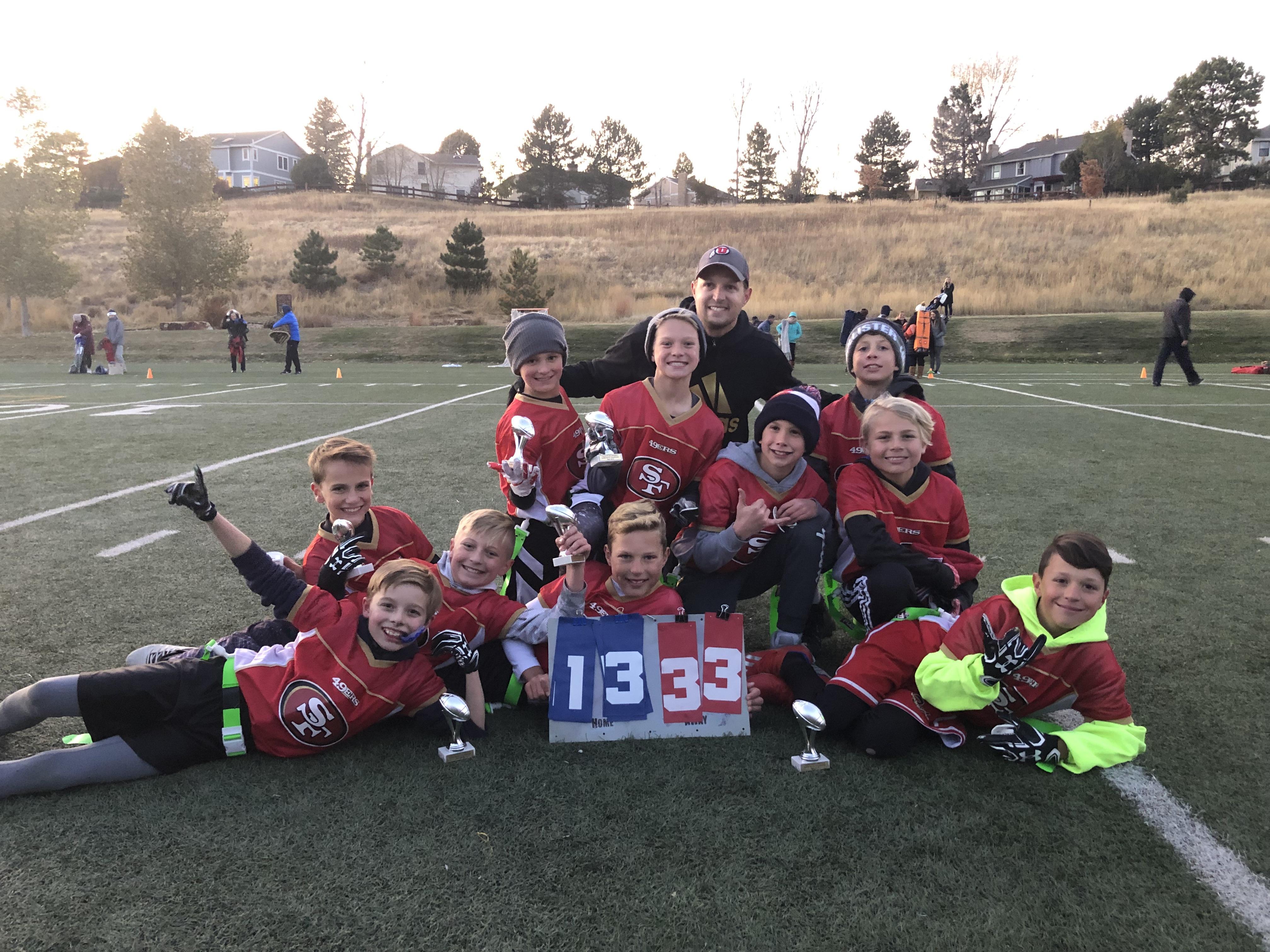 Fall Super Bowl Champions 5th-6th Grade Division