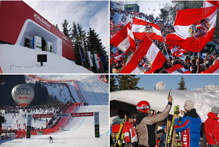 2018 World Airline Ski Championships in Kitzbuhel Austria