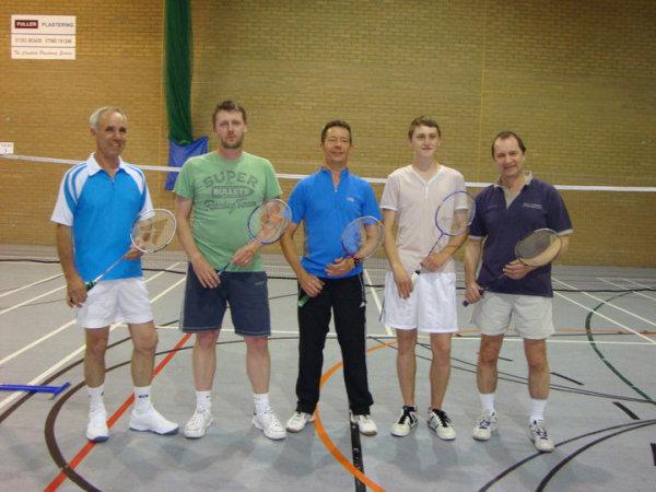 Mens Newmarket League Winning Team