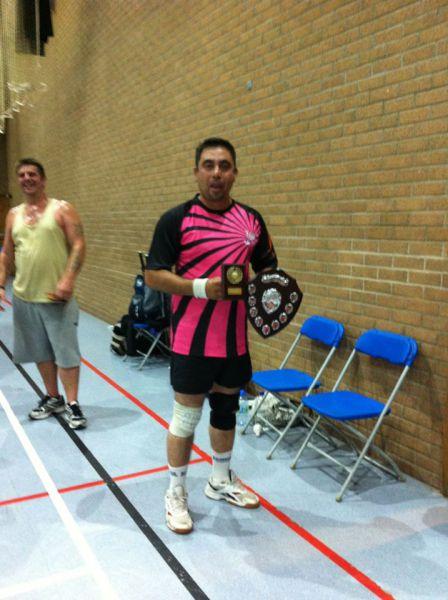 Jim Burn Trophy Winner 2012 - Zahid Ahmed
