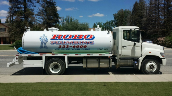 Septic Pump Truck