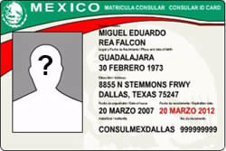 MEXICO CONSULAR ID