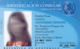 ANY CONSULAR ID