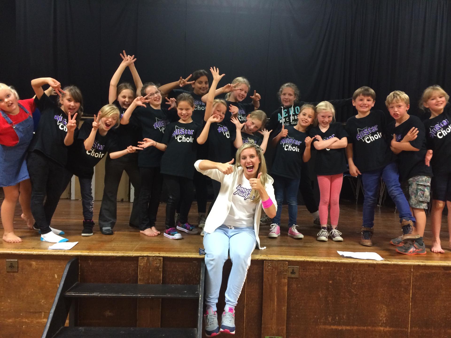 AllStar Choir Hannah Frederick , Tillingbourne School, Chilworth, Surrey.
