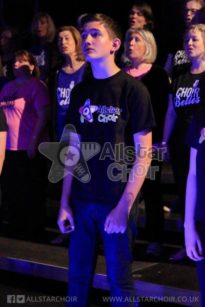 AllStar Choir Over 10's Singer