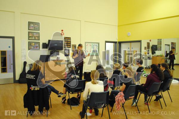 AllStar Choir Over 10's Rehearsal