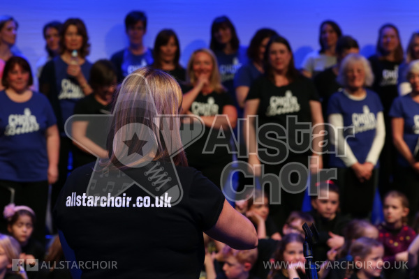Choir Belles and AllStar Choir