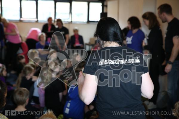AllStar Choir Backstage