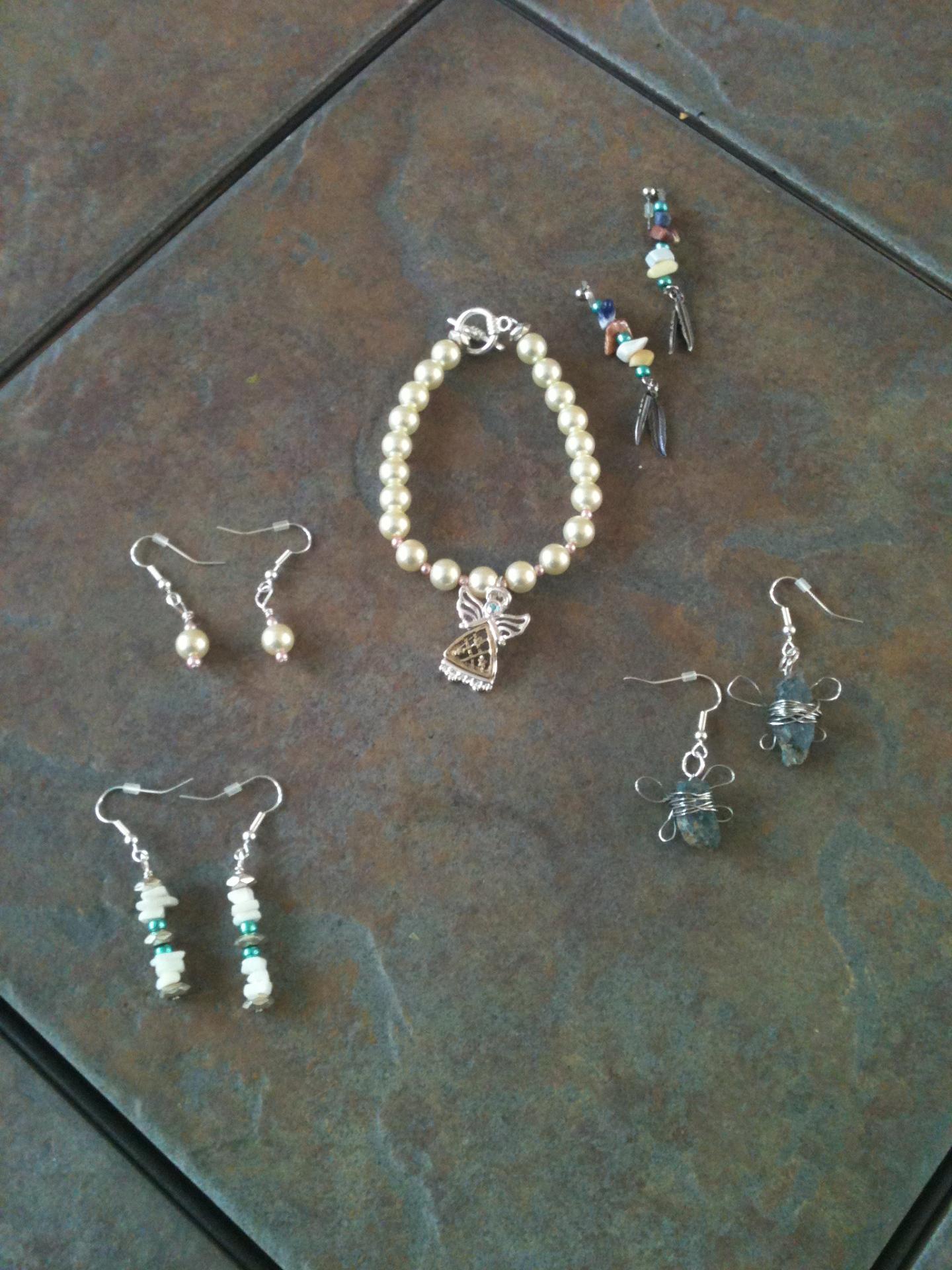 Stone & Pearl Jewelry