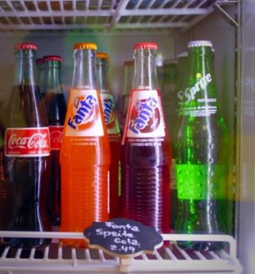 Glass Bottled Soda Pop