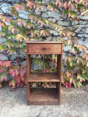 Nate Vintage Crate End Table