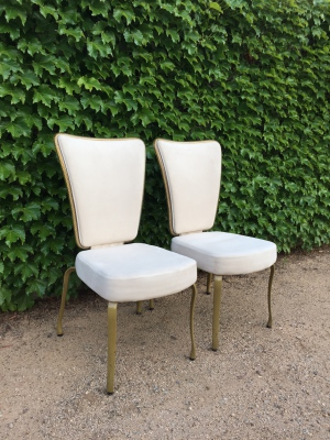 Fairbank Vintage Glam Chairs