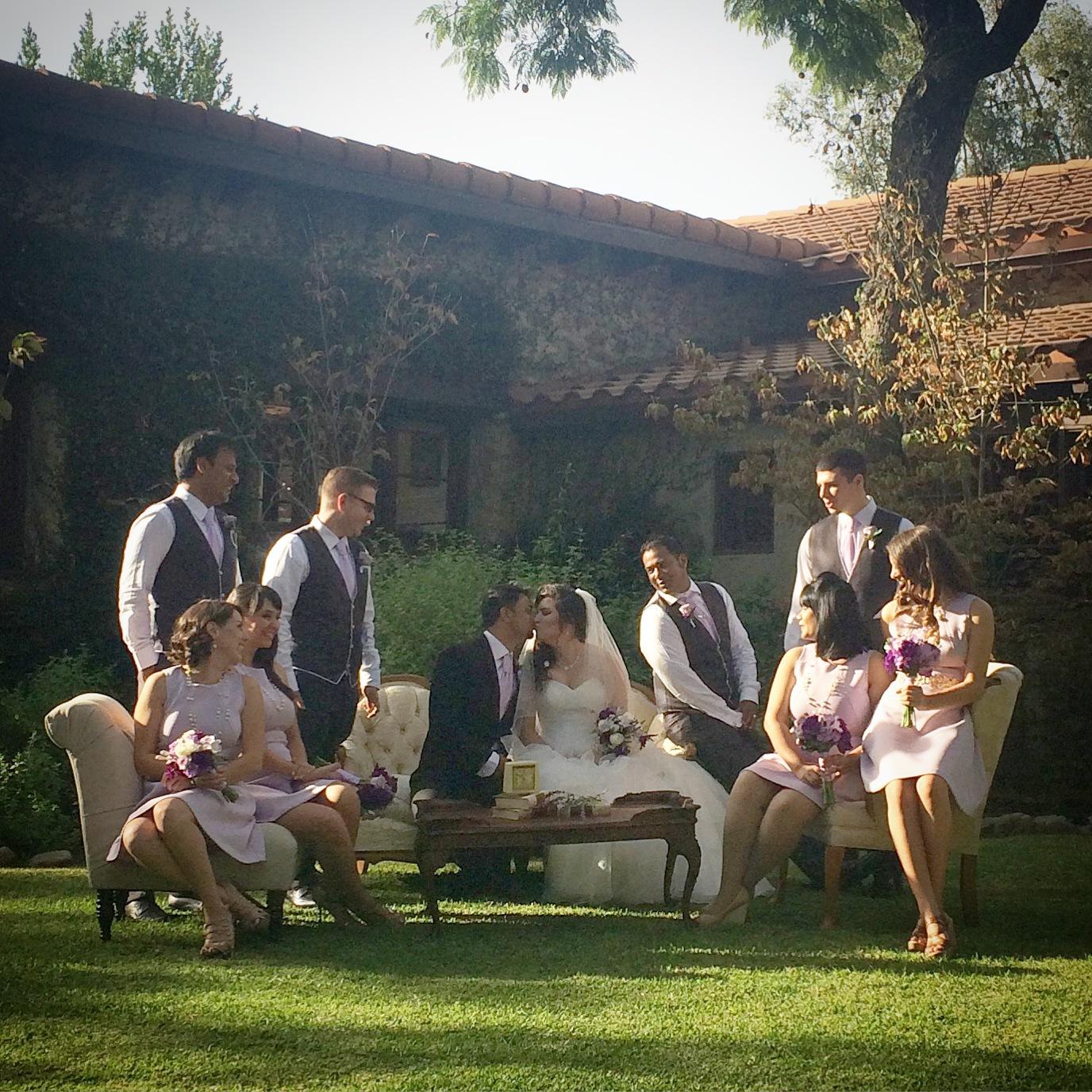 Tuscan Style Wedding