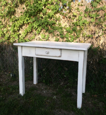 Shabby Sweet mini farm table