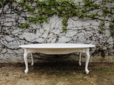 shabby distressed coffee table