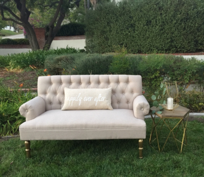 Jane our french low back tufted sofa