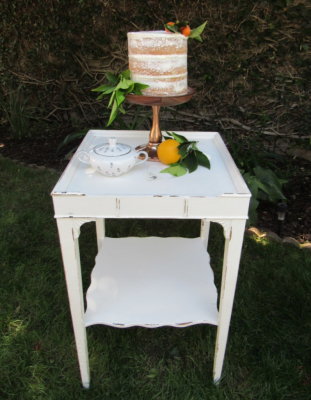 Sweet vintage side table