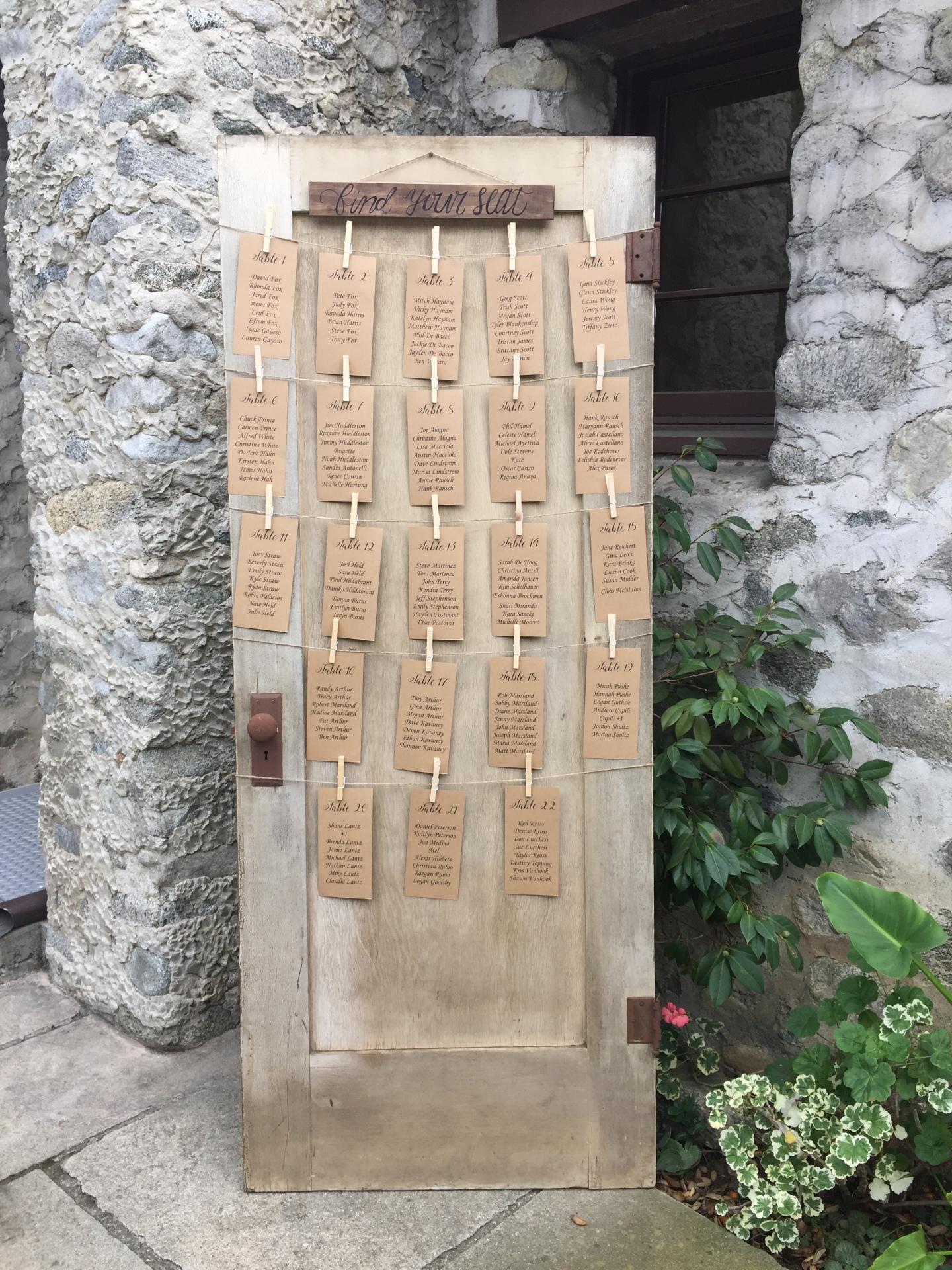 Tuscan Vintage Door