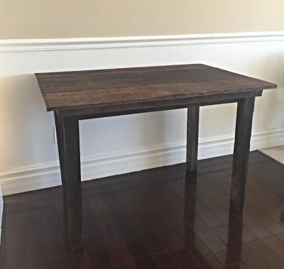 Cash Vintage Barn Wood Table