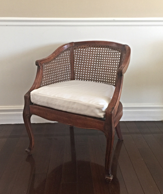 Vintage Cane Back Chairs (2)