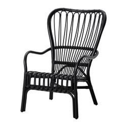 Rattan Black Chairs