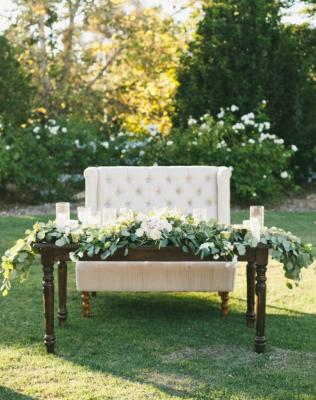 Outdoor Pacific Palisades Wedding