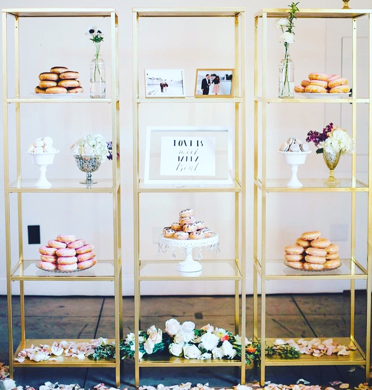 Gold Style Shelving