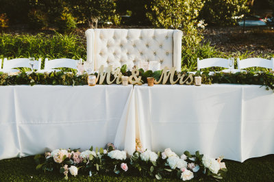 Linen floral elegance
