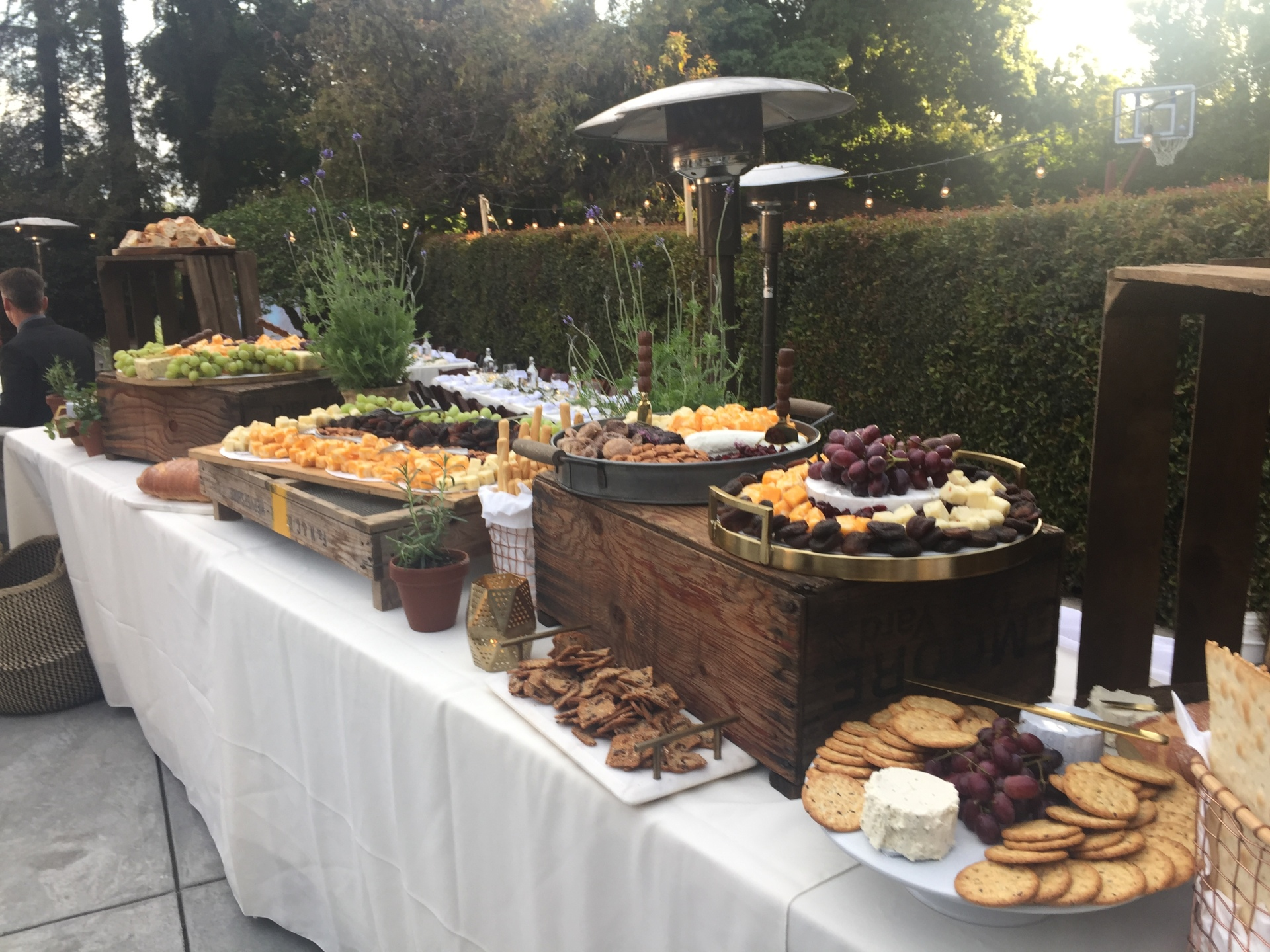 Tuscan Appetizer Display