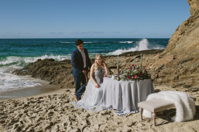 Laguna beach styled shoot