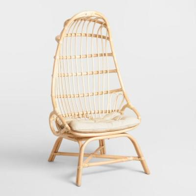 Sage cocoon rattan chair