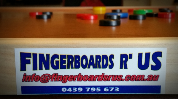 Fingerboards R' Us is proudly Australian owned by Marius & Zenobia Pretorius