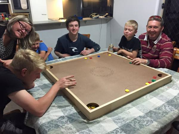 "Melissa Goff says ""Inducting more Aussies into the joy that is fingerboard!!"""