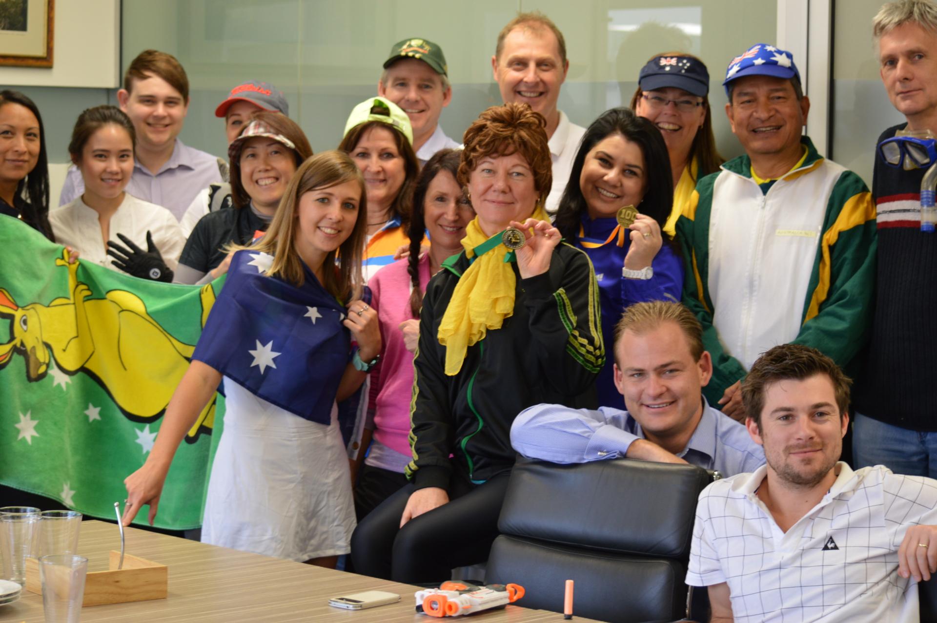 ROCG Perth - Office Olympics 2016