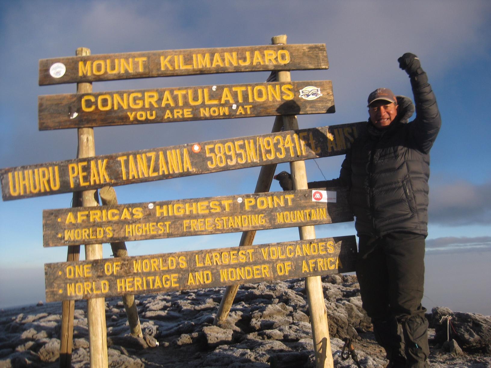 Peter Kinsman - Mount Kilimanjaro